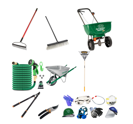Yard Tools for Homeowner